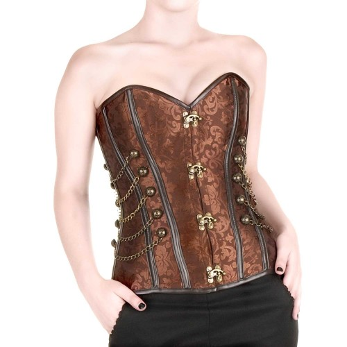 Corset Brocado Steampunk