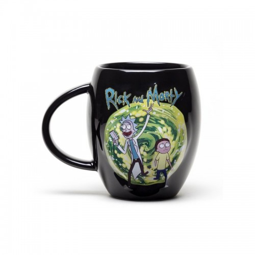 JARRA DE CERVEZA RICK AND MORTY GET SCHWIFTY